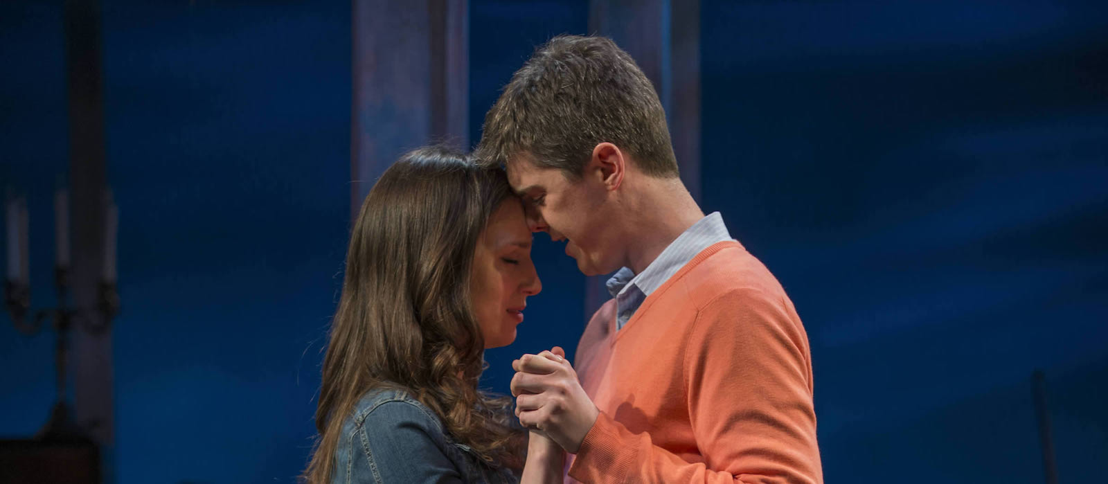 Emily Berman (Tessa) and Jarrod Zimmerman (Arnaud) singing Ten Thousand Times from Days Like Today